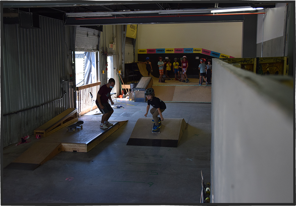 Cours de Skateboard